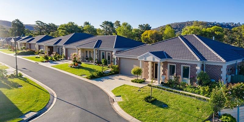 Hume Retirement Resort homes